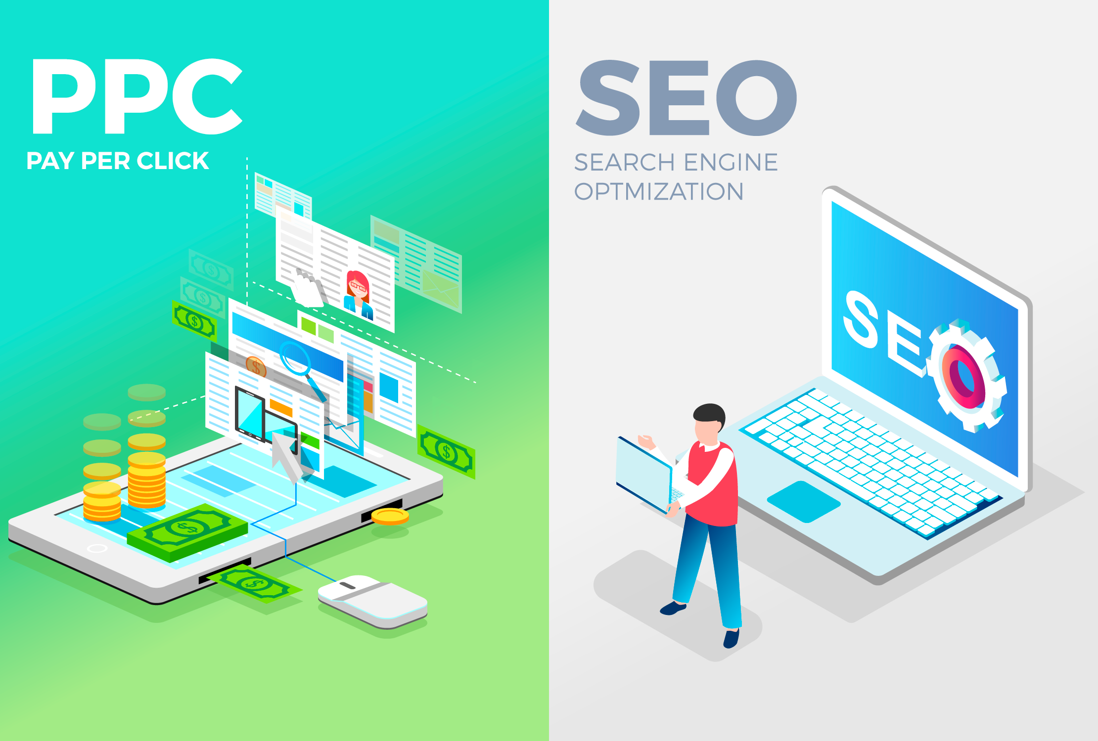 Pay Per Click (PPC) vs SEO: Which Do You Choose?