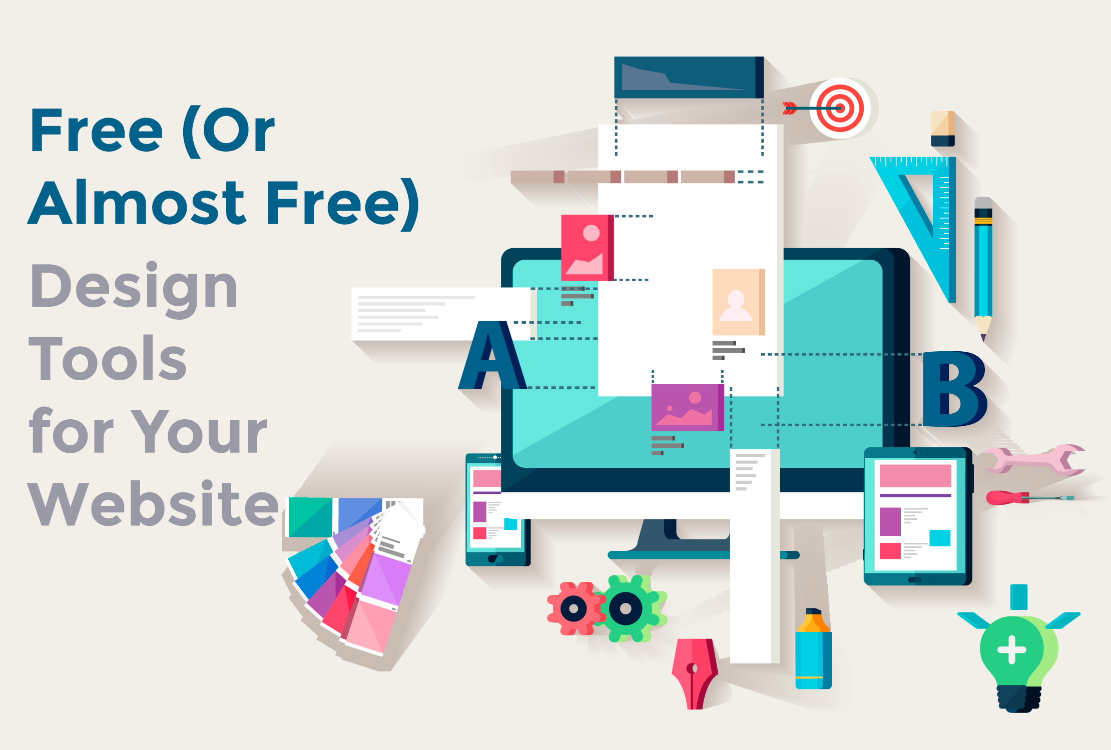 Free (Or Almost Free) Design Tools for Your Website
